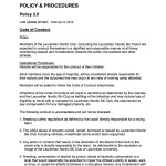02.0 A Policy Code of Conduct Proposed 2011 TEMP