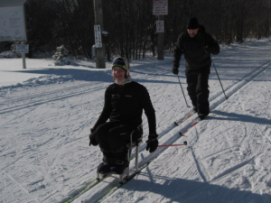 Para-Nordic Skiing with family