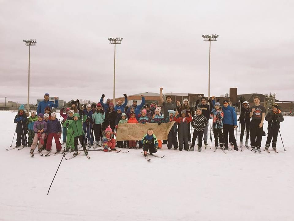 Czech hunter ski