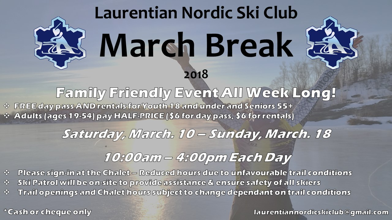 March Break 2018